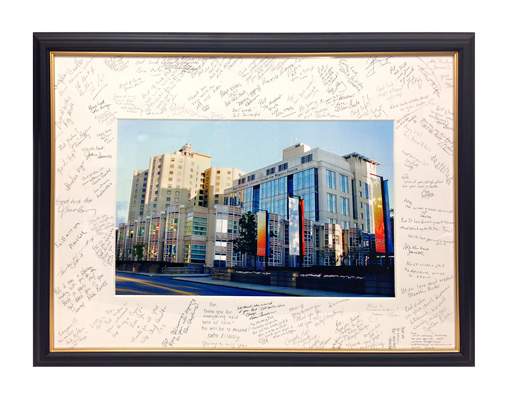 Framed Gifts and Signing Boards